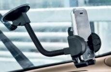 Многофункциональный фиксатор телефона для автомобиля