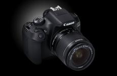 Canon EOS 1300D - любительская зеркальная фотокамера